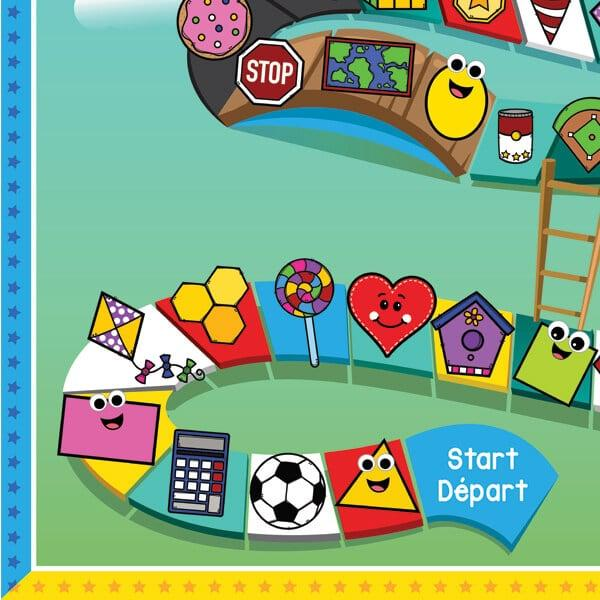Shapes & Ladders Game