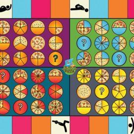 Bundled product placeholder image Pizza Fractions game mat