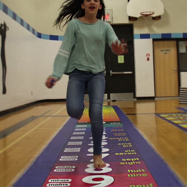 jumping to integers