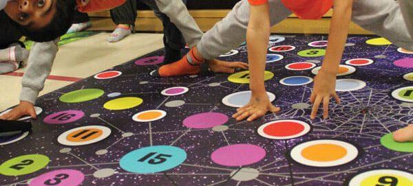 Space Spider Math Twister