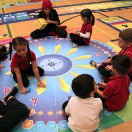 Hop Around the Clock - Telling Time Games