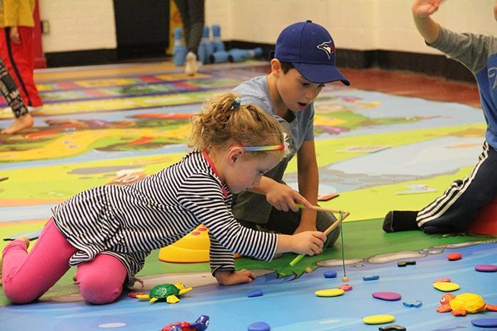 Kindergarten Kinesthetic Math Games Ideas Activity Mat