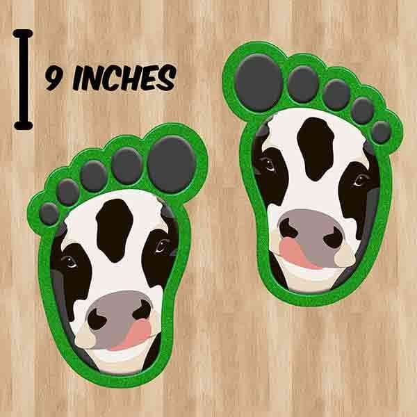 Farm Feet Social Distancing Pack