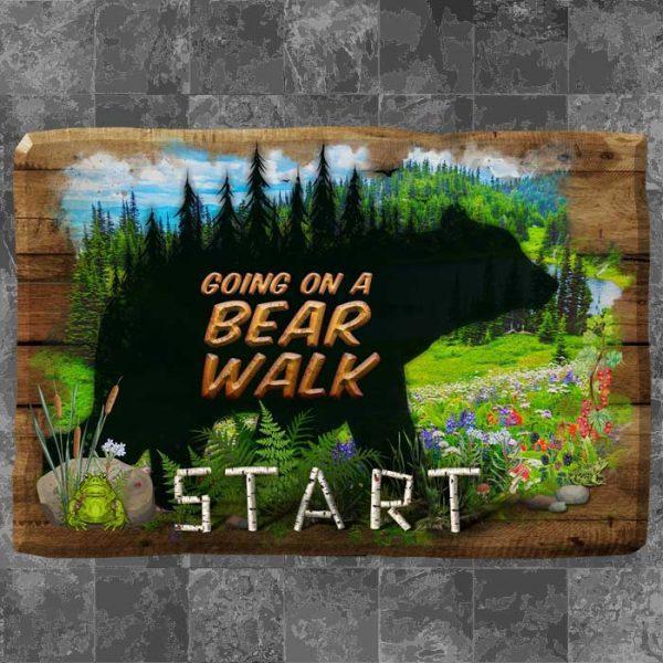 Sensory Path – Going On a Bear Walk