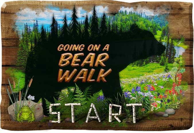 GOING ON A BEAR WALK