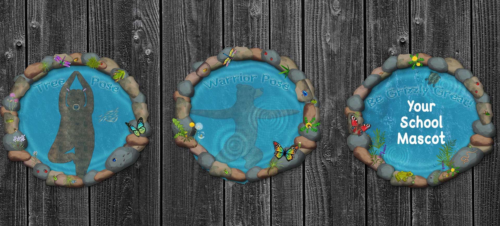 Custom yoga ponds
